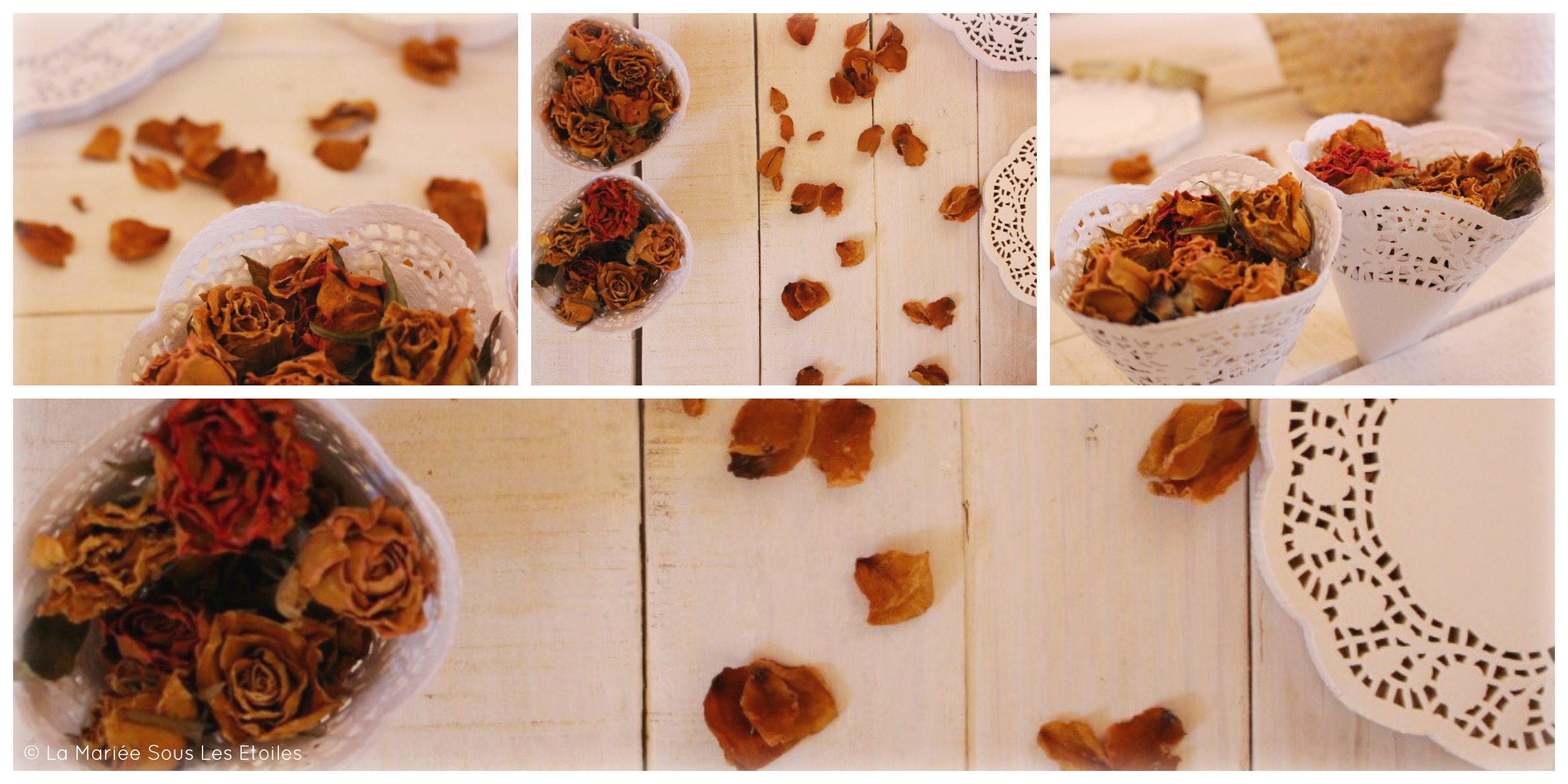Tuto {DIY} Fabriquer des petits cornets en papier dentelle | Tuto Décoration Mariage présenté par La Mariée Sous Les Etoiles
