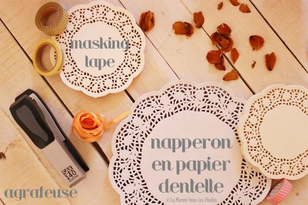 {DIY} Fabriquer des petits cornets en papier dentelle | Etape 1 : Préparer son matériel | Tuto Décoration Mariage présenté par La Mariée Sous Les Etoiles