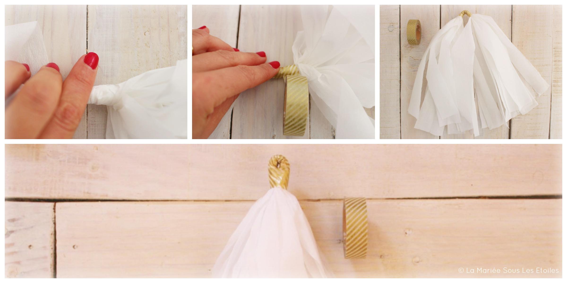 {DIY} Réaliser une guirlande de tassels | Etape 3| Tuto Décoration Mariage présenté par La Mariée Sous Les Etoiles