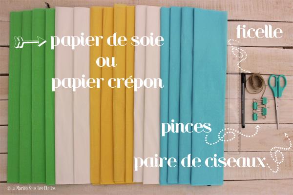 {DIY} Fabriquer des pompons décoratifs | Etape 1 : Préparer son matériel | Tuto Décoration Mariage présenté par La Mariée Sous Les Etoiles