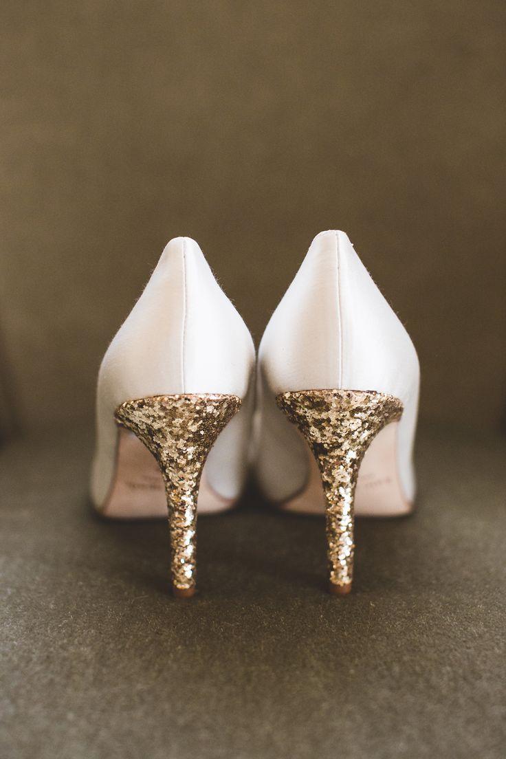 Inspirations pour un mariage doré | Chaussures de Mariée | présenté par La Mariée Sous Les Etoiles