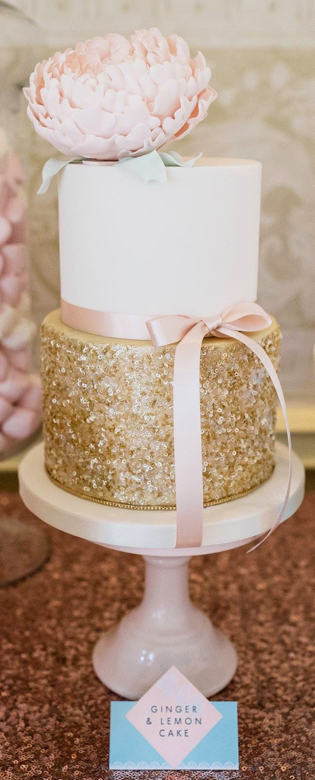 Inspirations pour un mariage doré | Wedding Cake doré | présenté par La Mariée Sous Les Etoiles