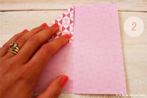 DIY {Do It Yourself} Marque-places cœur en origami| Etape 2 : L'art du pliage 2 par La Mariée Sous Les Etoiles