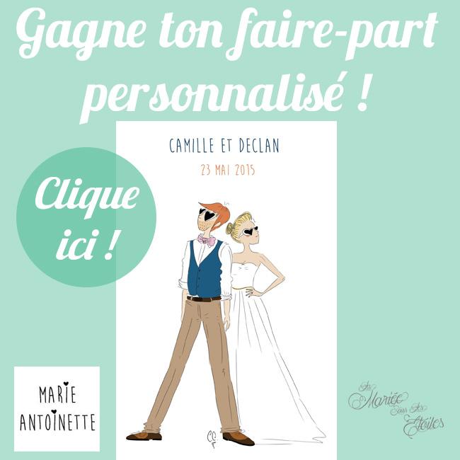Gagne Ton Faire-Part personnalisé !
