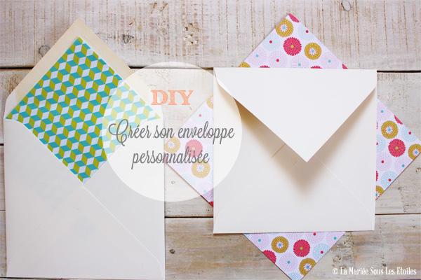 DIY : Comment créer une enveloppe personnalisée | Atelier Do It Yourself | Blog Mariage | La Mariée Sous Les Etoiles