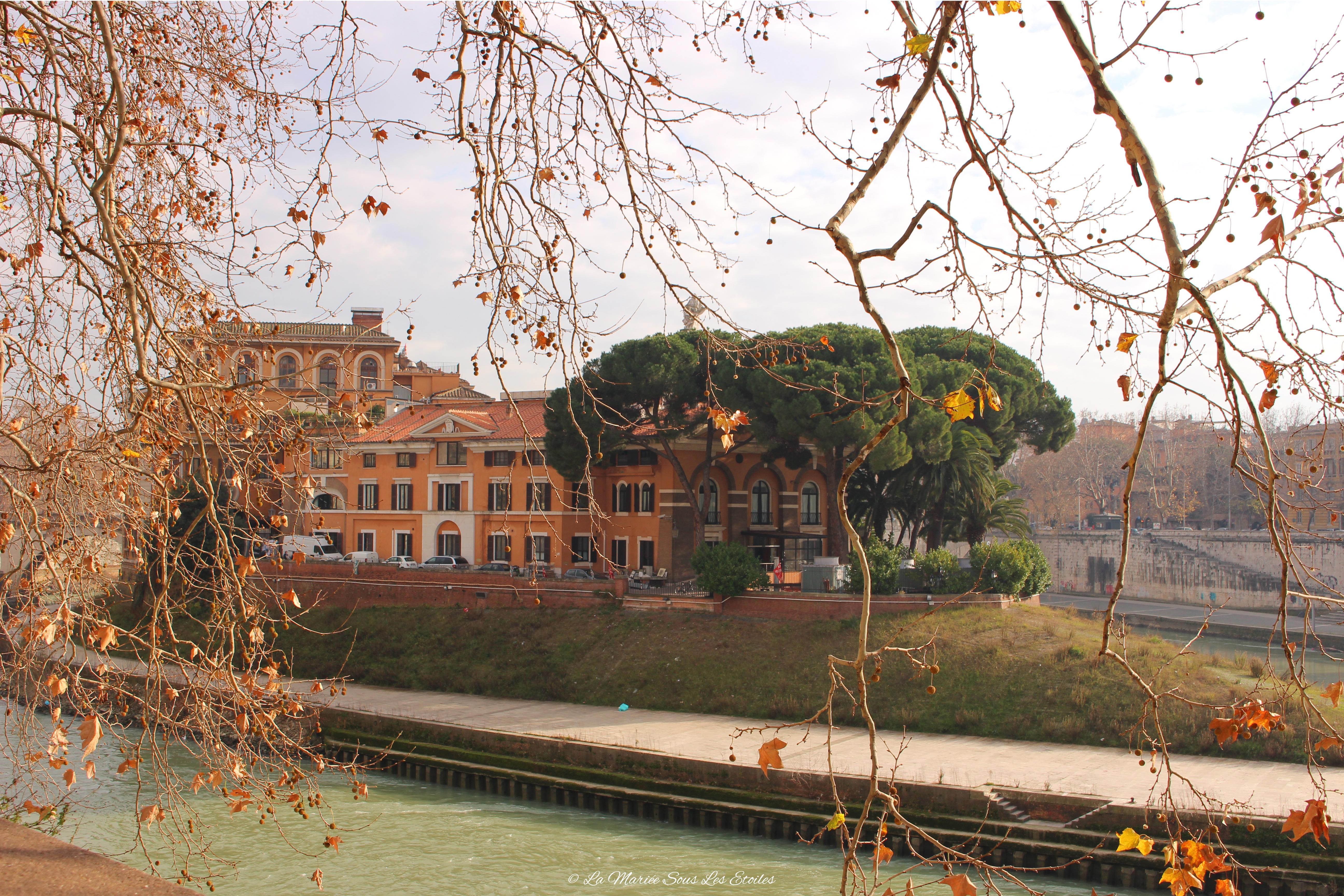 Tibre, île Tibérine | Voyage en amoureux - Rome, la cité éternelle