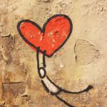 Coeur dans l'espace public, Florence | Voyage en amoureux - Florence
