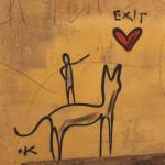 Artiste .K - Art dans l'espace public, Florence | Voyage en amoureux - Florence