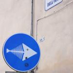 Panneau de signalisation à Firenze | Voyage en amoureux - Florence