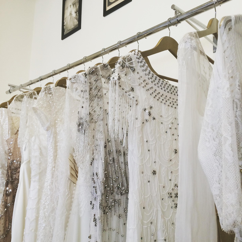Sélection de robes de mariée chez Plume Paris