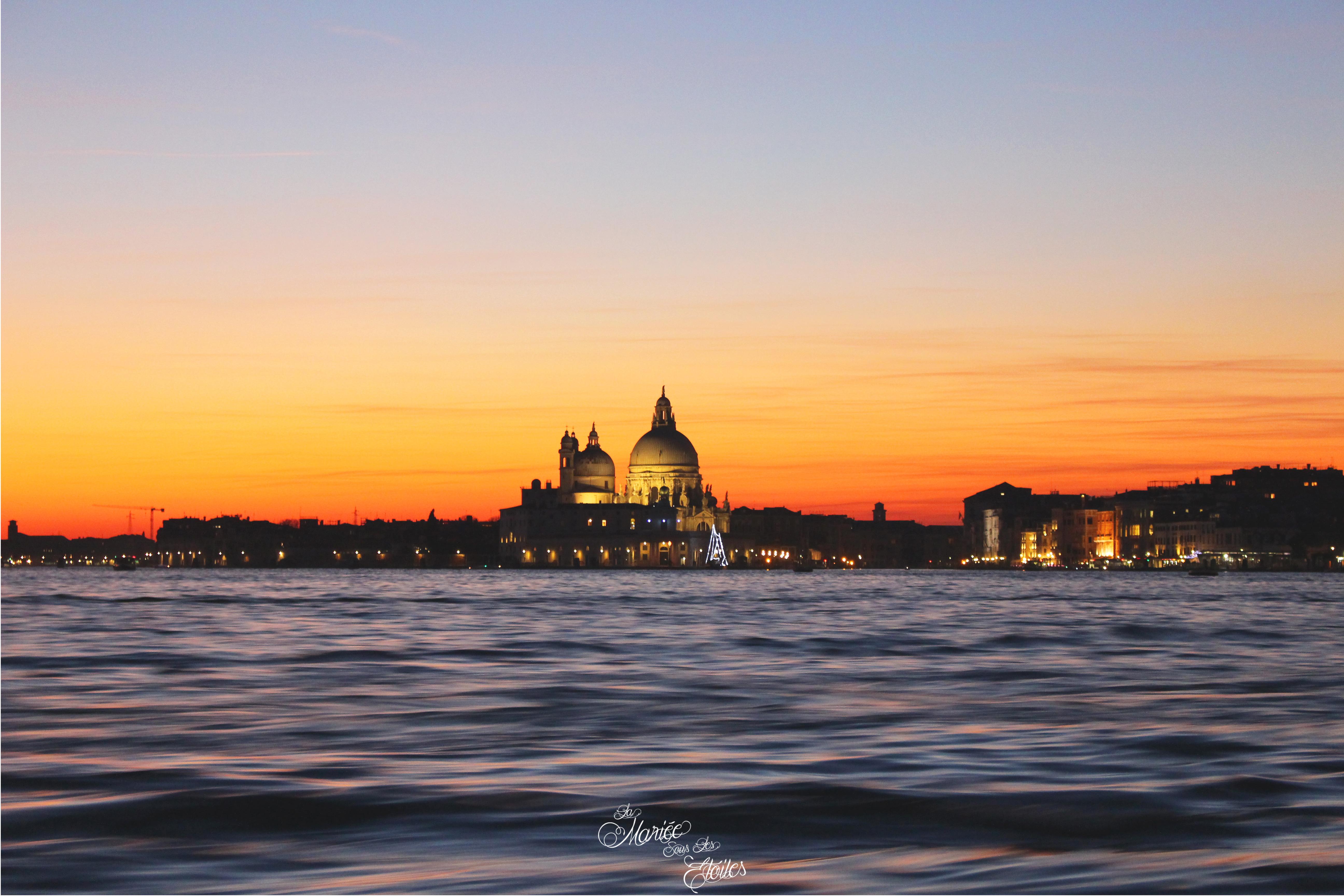 Coucher de soleil sur Venise | Voyage en amoureux - Venise, Italie