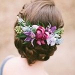 Couronne de fleurs mariage |Blue-and-Berry-Wedding-Inspiration-by-Anastasiya-Belik