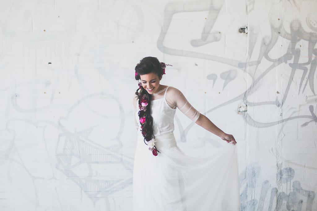 Modèle Cuba Venezuela Lima, Collection robes de mariée Atelier 2B © Studiohuit