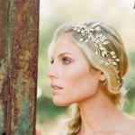 Couronne de fleurs Mariage _ Photography Carmen Santorelli _Headpiece Erica Elizabeth Designs
