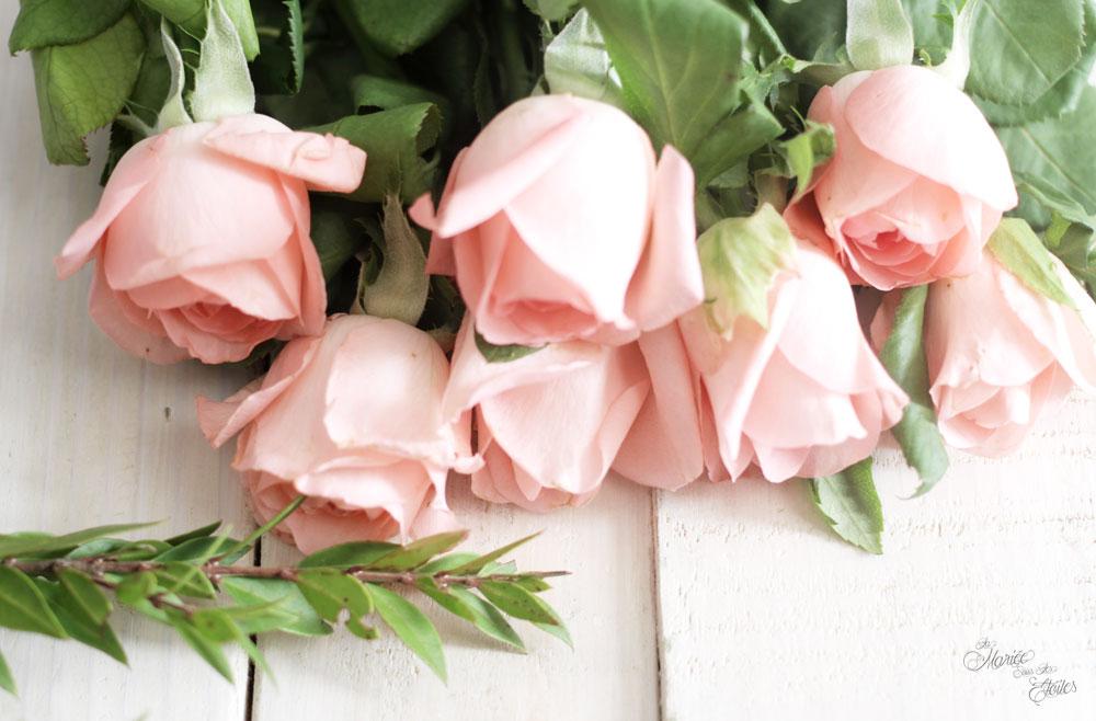DiY-Couronne-de-fleurs-mariage | Jolies roses| © La Mariée Sous Les Etoiles
