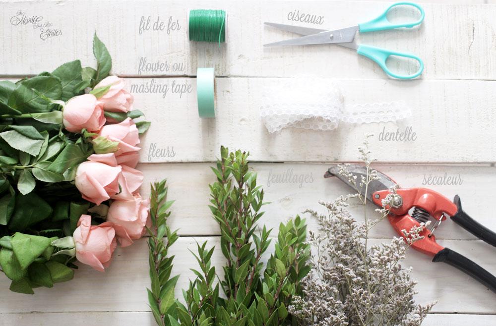 DiY • Couronne de fleurs mariage joliment fleurie • La Mariée ...