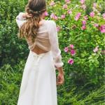 L'Envoûtante (dos), Adeline Bauwin | Robes de mariée Collection 2016