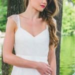 L'Étincelante (détail), Adeline Bauwin | Robes de mariée Collection 2016