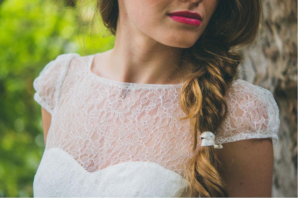 La Mystérieuse, Adeline Bauwin | Robes de mariée Collection 2016