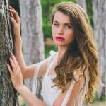 La Séduisante (détail), Adeline Bauwin | Robes de mariée Collection 2016,
