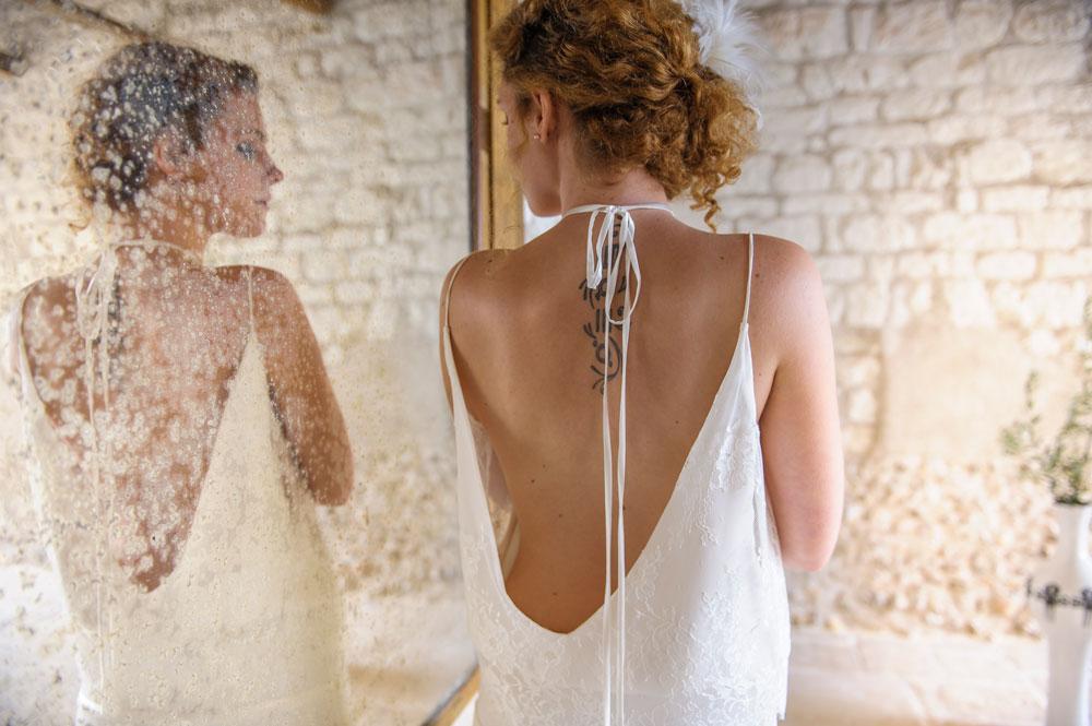 Salome Gautard Nouvelle Collection 2016 | Modèle Denise | Robes de mariée sur-mesure