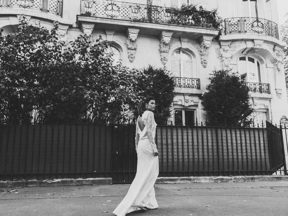 Sophie Sarfati, Collection 2016 de robes de mariée, robe Garance © Lifestories : Yann Audic