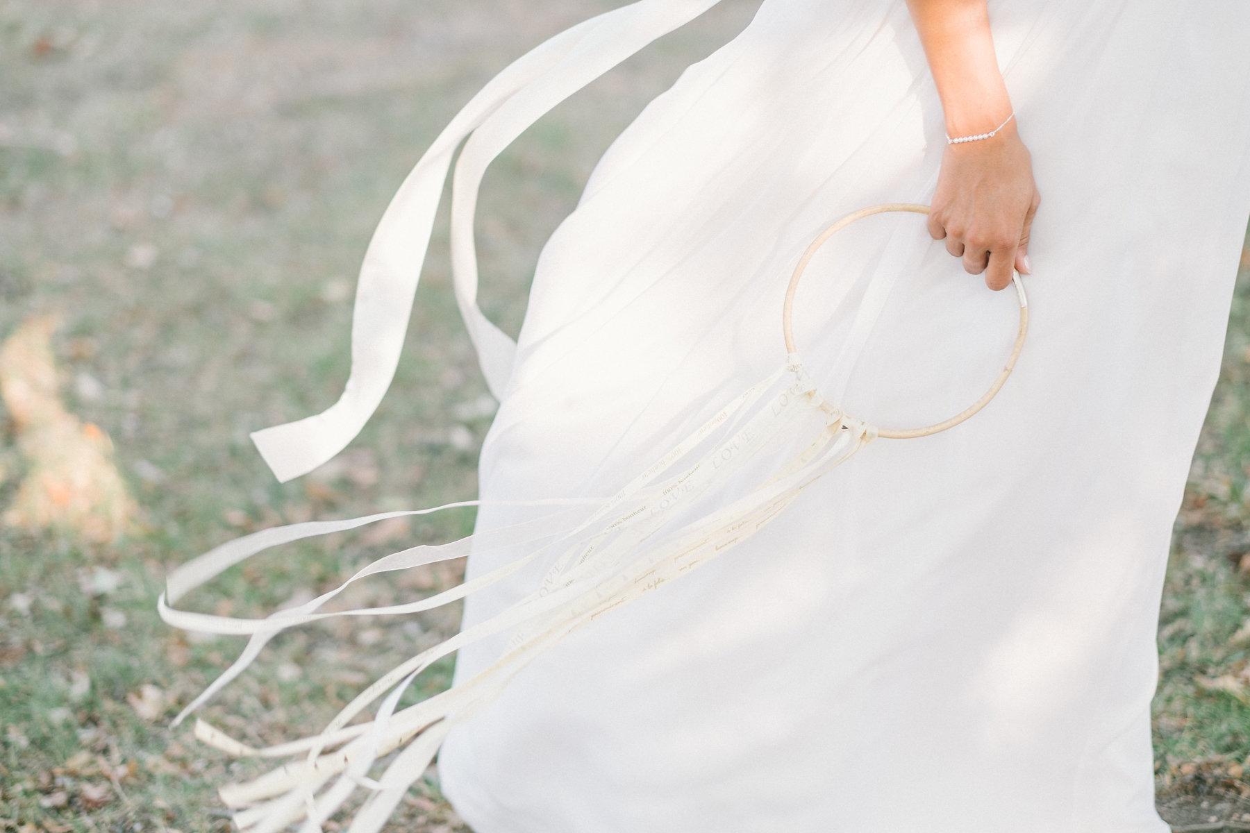 Bracelet mariée Dalia - L'Atelier de Sylvie © Lena G. Photography