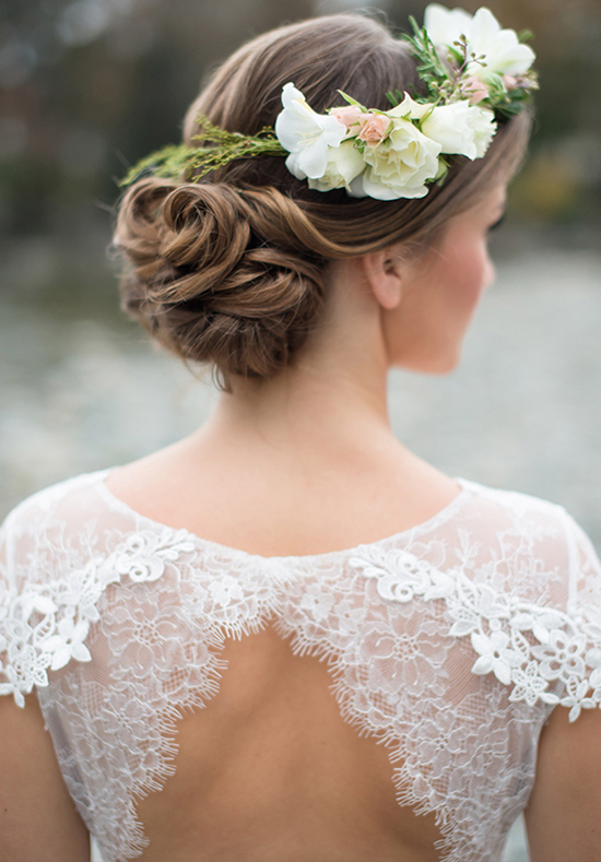 chignon mariage © Christie Graham Photography