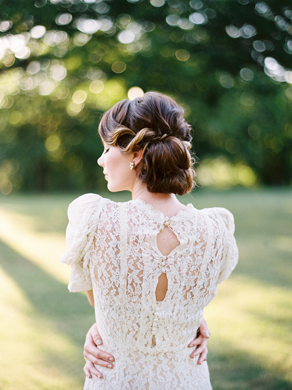 chignon mariage © Ryan Ray