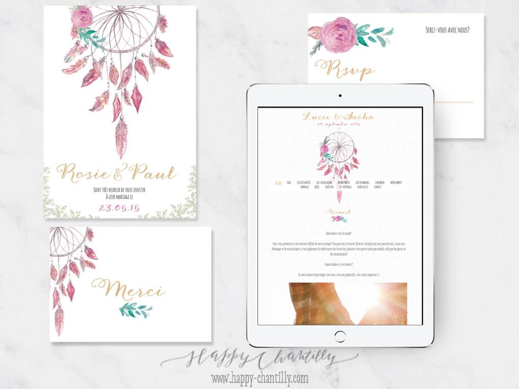 Concours - Gagne ton blog de mariage personnalisé - Petit Mariage Entre Amis X Happy Chantilly | La Mariée Sous Les Etoiles