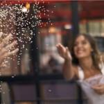 Save The Date vidéo ✩ lancer de confettis | La Mariée Sous Les Etoiles