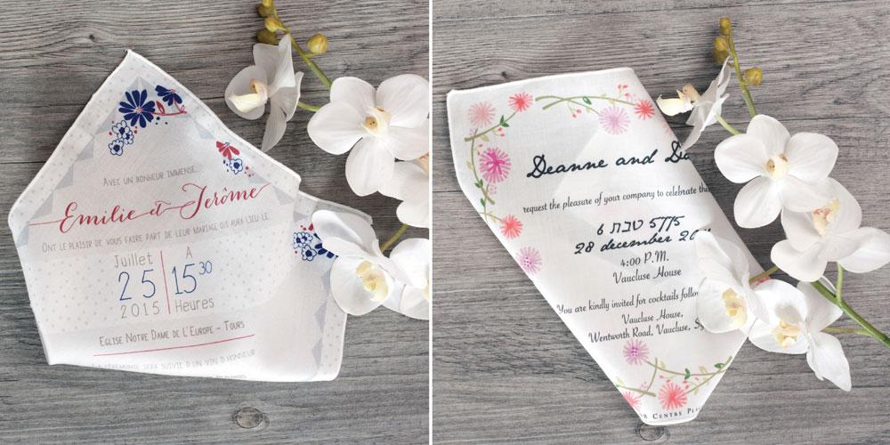 Comment bien choisir ses faire-part de mariage - Conseils d'Instants Tissés | Blog La Mariée Sous Les Etoiles