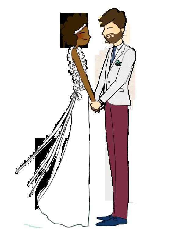 Ameliste, la liste de mariage des jours heureux | Illustration Alix Aime | blog mariage La Mariée Sous Le Etoiles