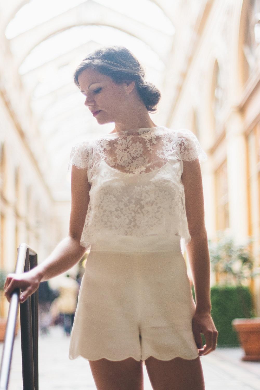 La jolie collection capsule mariage civil 2016 Adeline Bauwin | Crédit Blondie Confettis | Blog La Mariée Sous Les Etoiles