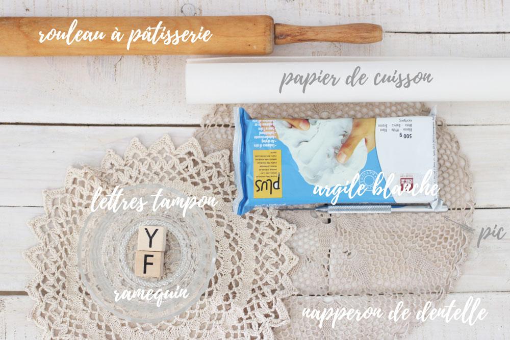 DiY- Comment réaliser un porte-alliance original en argile | Matériel | Blog mariage & DIY | La Mariée Sous Les Etoiles