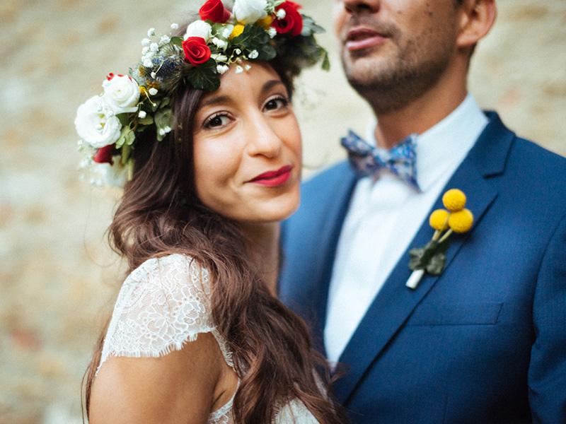 Linda ♥ Marc - un sublime mariage coloré qui transpire le bonheur