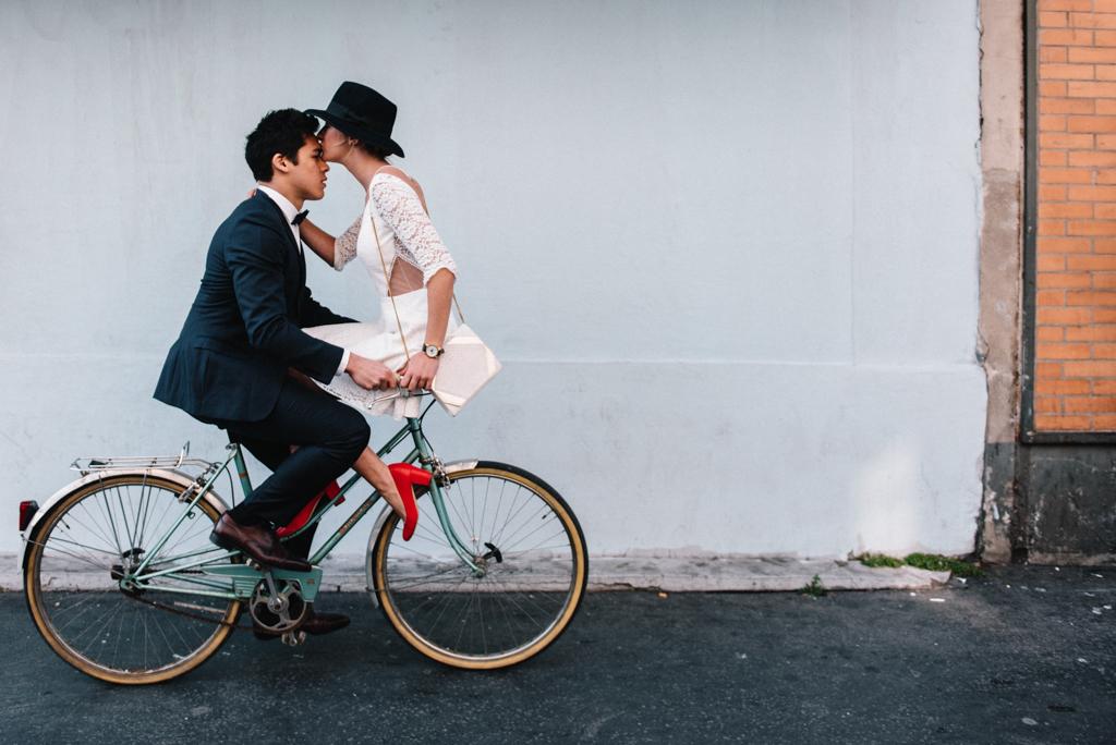 Petite robe civile 2016 Mademoiselle de Guise - © Chloé Lapeyssonnie - Blog mariage La Mariée Sous Les Etoiles
