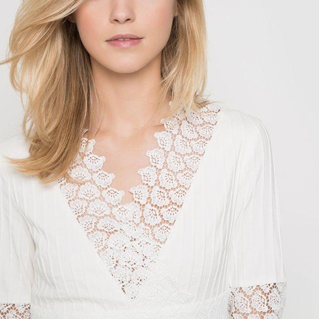 7776be03ab4 Coup de ♡ • la robe de mariée Delphine Manivet x La Redoute Madame