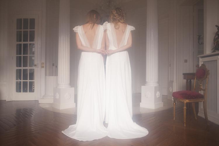 Harpe signe sa première collection de robes de mariée vintage - crédit Liza Bouteille - blog mariage La Mariée Sous Les Etoiles