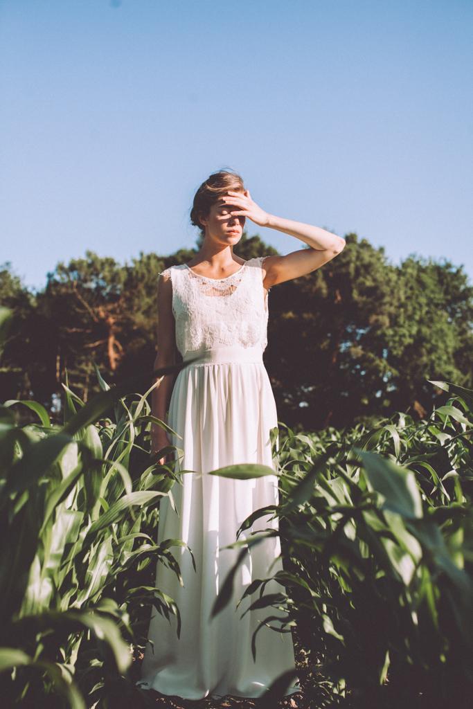 Robes de mariée Lorafolk, collection 2016 - Crédit Laurence Revol - Blog mariage La Mariée Sous Les Etoiles