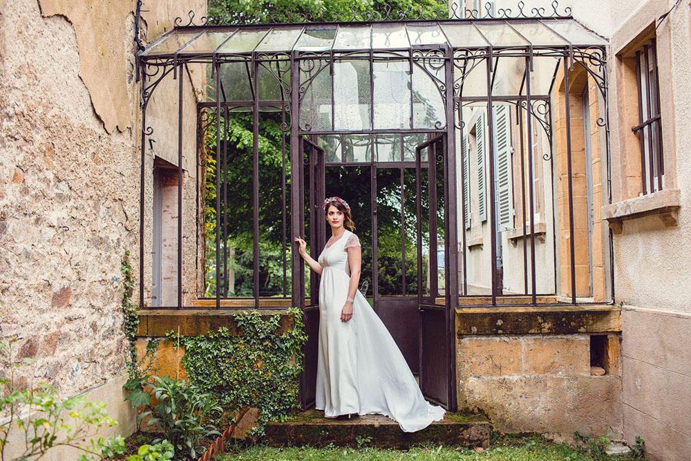 Kaa Couture • Une collection 2017 de robes de mariée romantiques et bohèmes | Crédit Loovera Mariage | Blog La Mariée Sous Les Etoiles