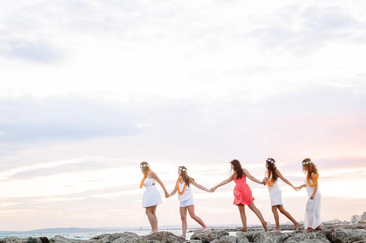 EVJF • Un enterrement de vie de jeune fille en bord de mer | Johanna Marjoux | Blog La Mariée Sous Les Etoiles