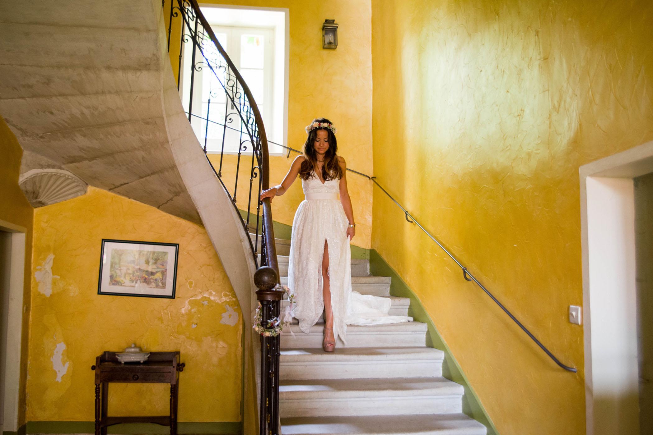 Claire & Martin | Mariage simple et bucolique dans le Gard | Julie Verdier Photographe | Blog La Mariée Sous Les Etoiles