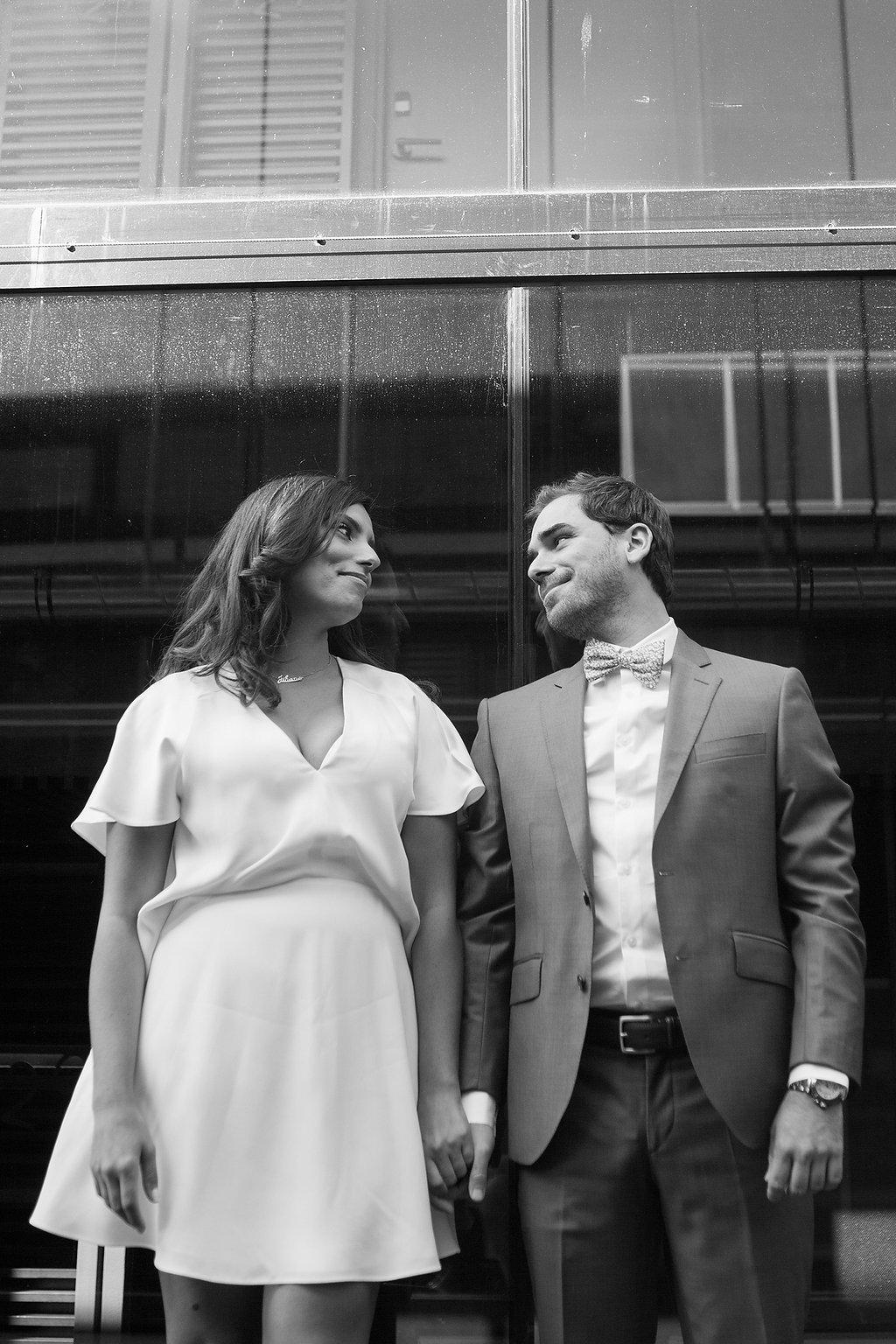 Jehane + Jacques • un mariage civil simple et élégant à Paris