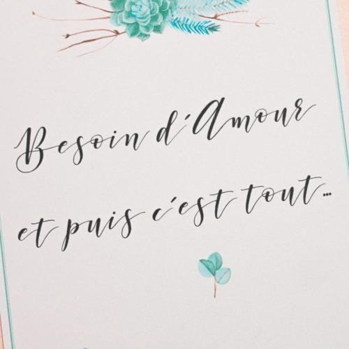 Mon Manifeste de l'Amour accompagné d'une jolie carte à imprimer_BlogMariageDiY_LaMarieeSousLesEtoiles