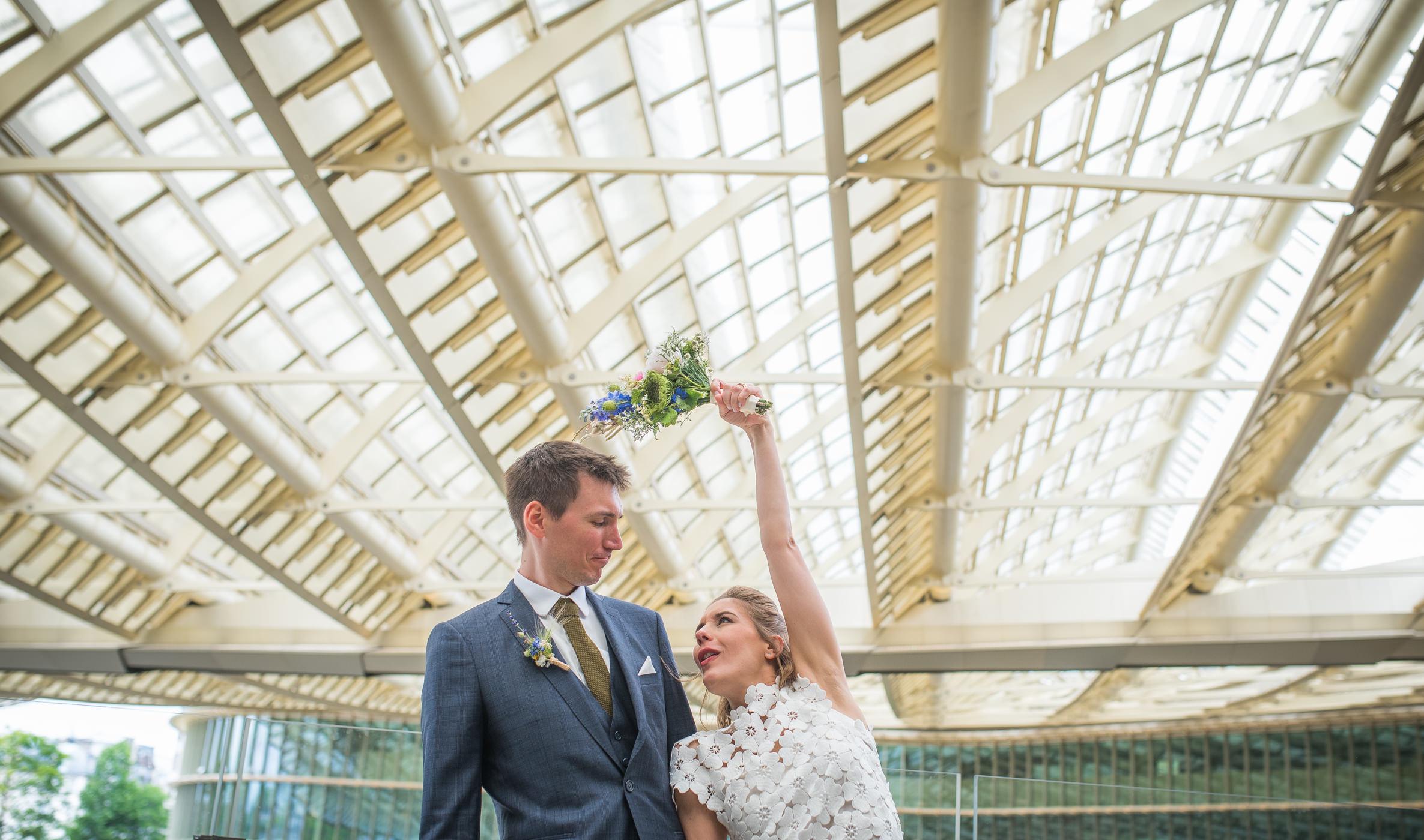 Judith + Sébastien • un mariage cool à la parisienne en petit comité