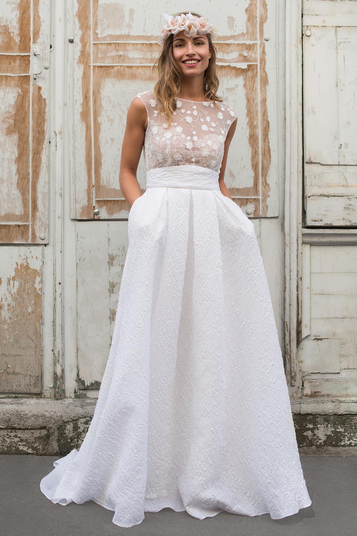 [PORTRAIT] Marie Laporte • Créatrice de robes de mariée audacieuse depuis plus de 15 ans...