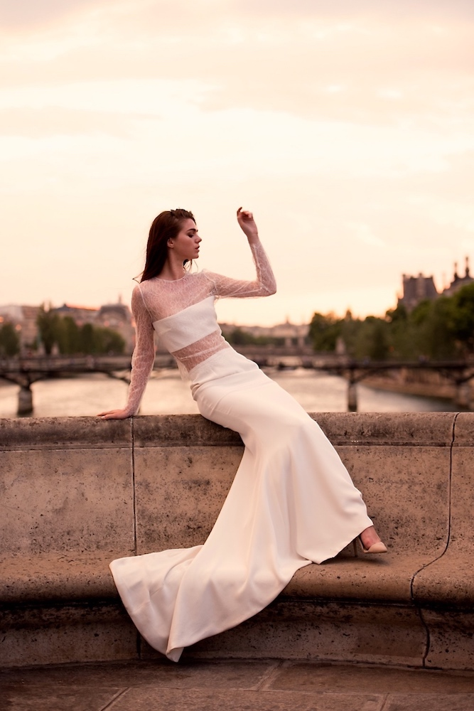 Sabrina Makar • Nouvelle collection 2018 de robes de mariée