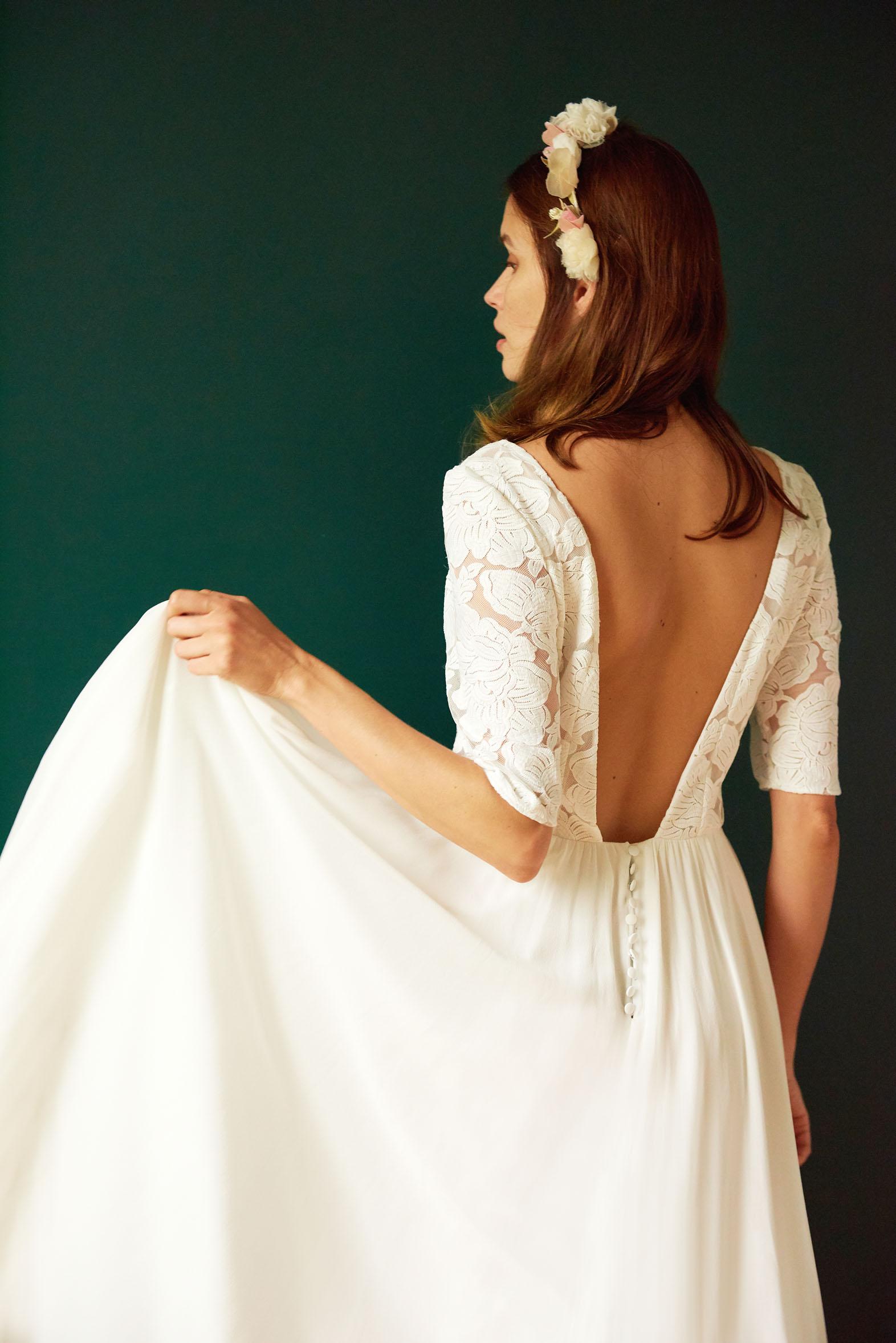 Maison Floret collection 2019 robes de mariée | La Mariée Sous Les Etoiles