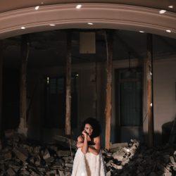 Clémentine Iacono | Collection 2019 robes de mariée | Crédit Chloé Lapeyssonnie | La mariée sous les étoiles